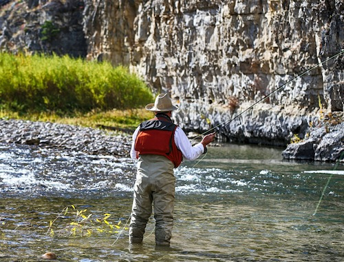 Montana Ranches at Belt Creek Family Adventure Activities Fly Fishing