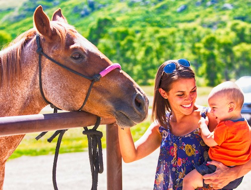 Montana Ranches at Belt Creek Family Adventure Activities Horseback Riding