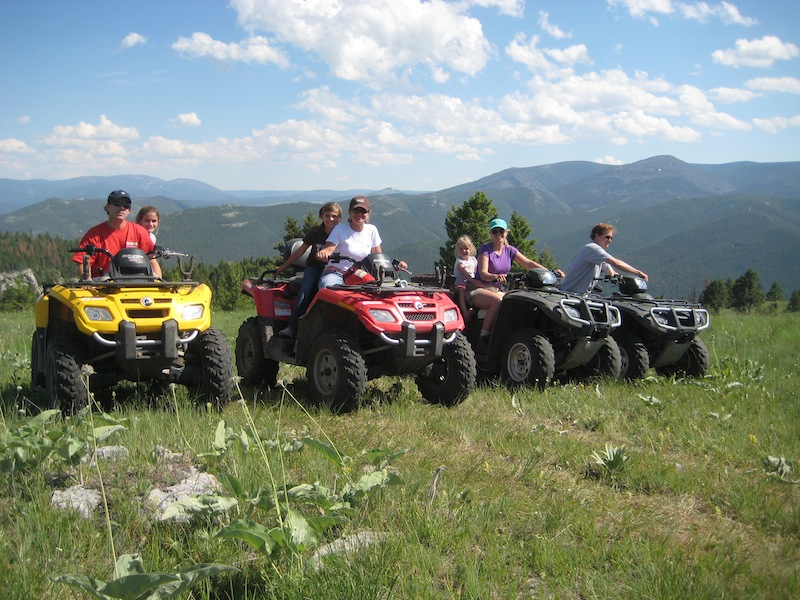 Atving in the mountains ranches at belt creek for The ranches at belt creek