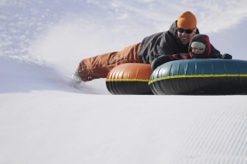 Winter Weekend Getaway Snow tubing